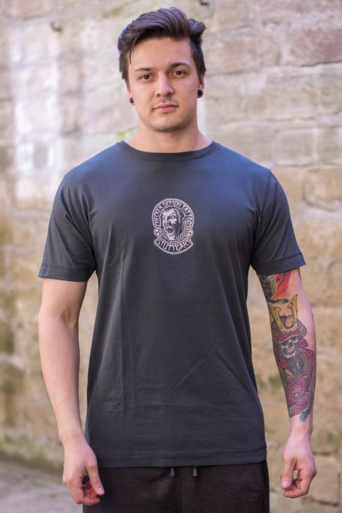 T-Shirt grau grey