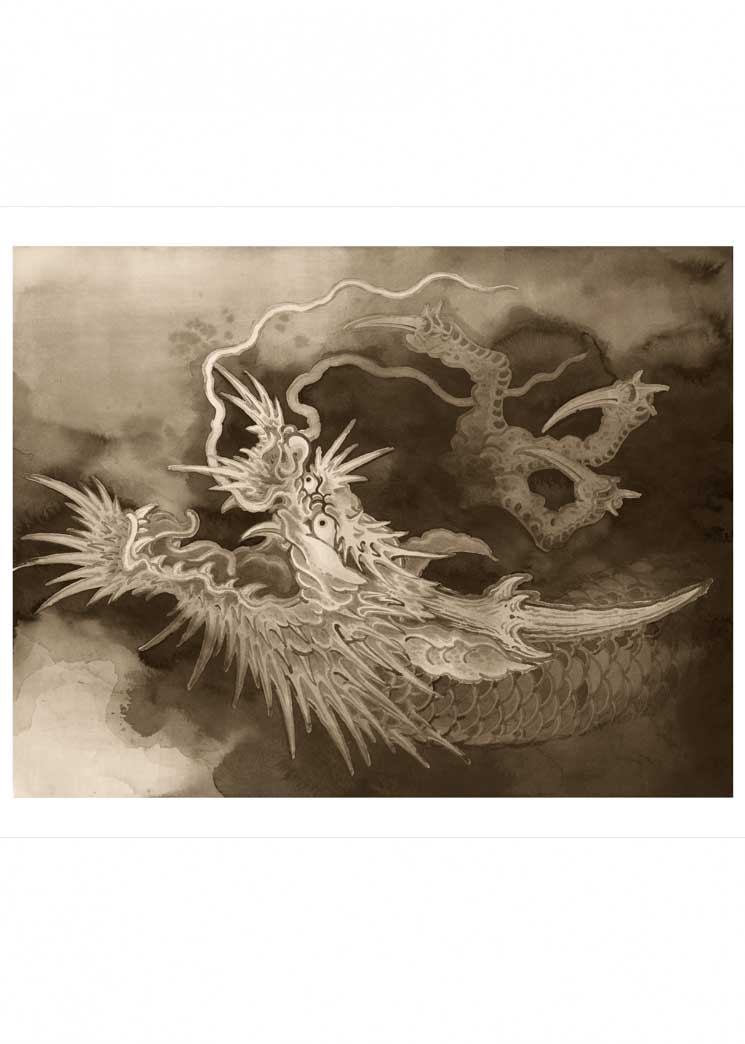 Sumie Dragon Luke Atkinson